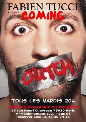 Fabien Tucci fait son Coming Outch au Théâtre Popul'Air du Reinitas : gagnez vos places !
