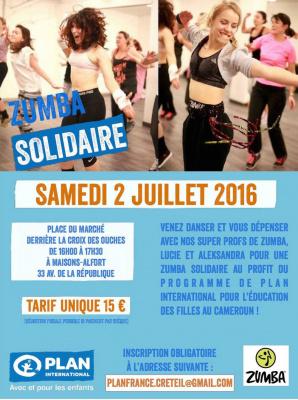 Zumba solidaire à Maisons-Alfort : une bonne action sportive