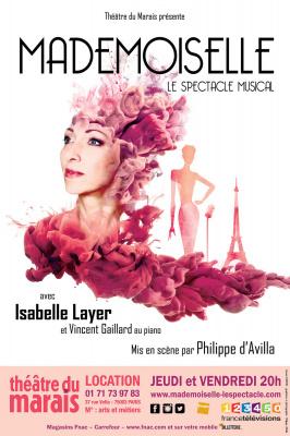 Mademoiselle, la comédie musicale du théâtre du Marais