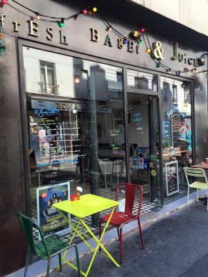 Fresh bagel and juice l 39 adresse d tendue de la rue for Hotel rue de la roquette paris 11