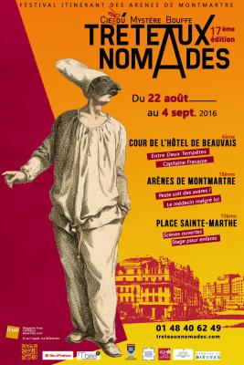 Tréteaux nomades 2016, festival de théâtre itinérant