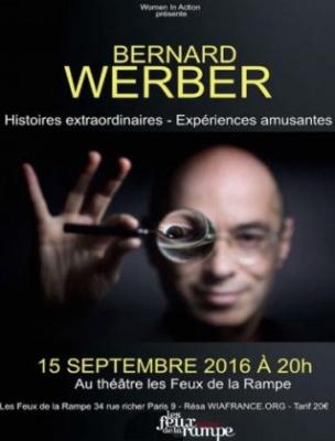 Bernard Werber, le spectacle aux Feux de La Rampe