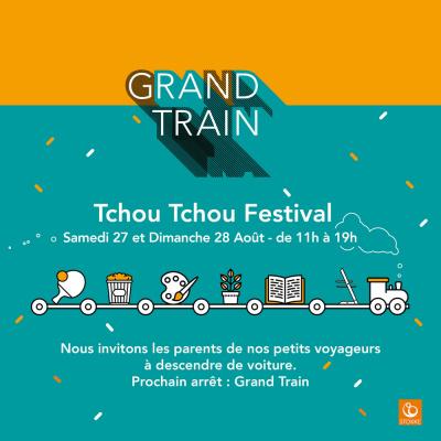 Tchou Tchou, le festival pour enfants chez Grand Train