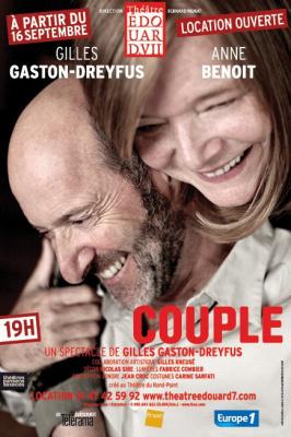 Couple au théâtre Edouard VII