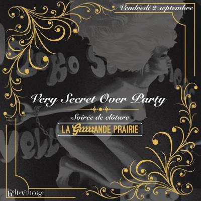 Closing Party érotique de la Grrrrrande Prairie à la Bellevilloise