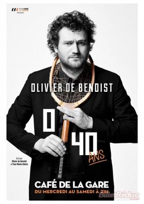 Olivier de Benoist, nouveau spectacle au Café de la Gare : notre critique