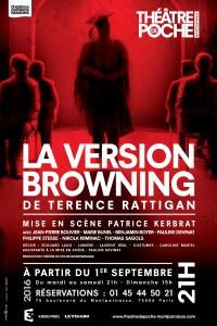 La Version Browning au théâtre de Poche-Montparnasse : notre critique