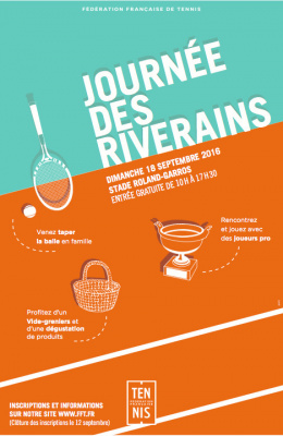 Journée des Riverains à Roland-Garros