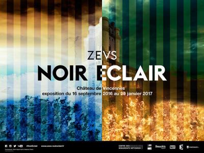 Noir Éclair, l'expo art contemporain du Château de Vincennes