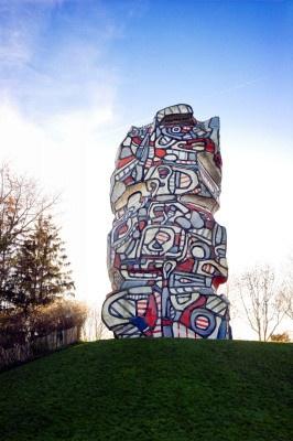 Journées du Patrimoine 2016 chez Jean Dubuffet au Parc départemental de l'Ile Saint-Germain