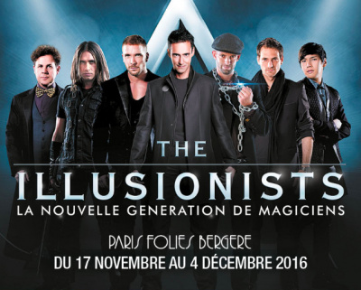 The Illusionists, spectacle de magie aux Folies Bergère