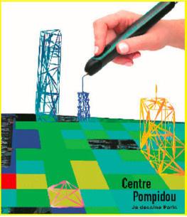 Je dessine Paris, l'atelier pour enfants au Forum des Halles et au Centre Pompidou