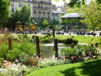 Fête des Jardins 2016 au square du Temple (Paris 3ème)