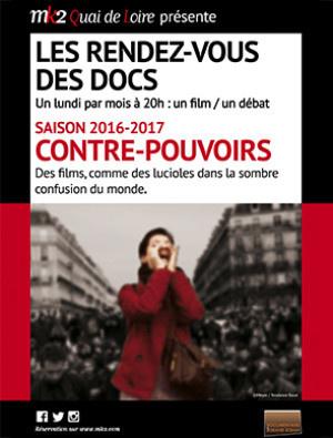 """Cycle de documentaires """"Contre-pouvoirs"""" au MK2 Quai de Loire"""