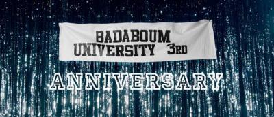 Le Badaboum fête ses 3 ans avec la Badaboum University
