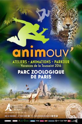 Animouv', activités des vacances d'automne au Parc Zoologique de Paris
