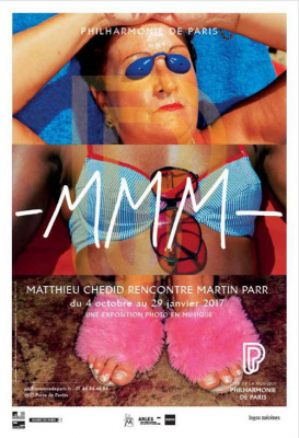 MMM, l'expo de Matthieu Chedid et Martin Parr à la Cité de la Musique