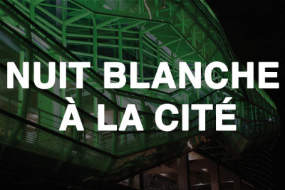 Nuit Blanche 2016 à la Cité de la Mode