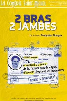 2 bras 2 jambes à la Comédie Saint-Michel : notre critique
