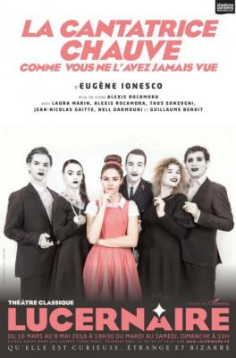 La Cantatrice chauve au Lucernaire : notre critique