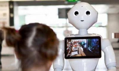 La Cité des Sciences vous accueille avec un robot !
