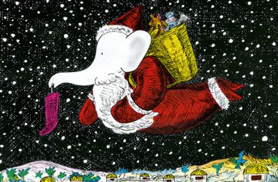 Babar et le Père Noël au théâtre des Champs-Élysées