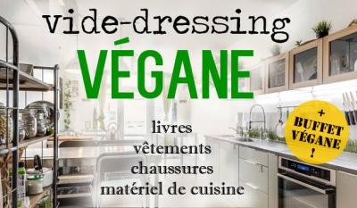 Vide-dressing végane et buffet gratuit à La Parenthèse Végétale
