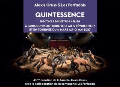 Quintessence, le nouveau spectacle du cirque Alexis Gruss