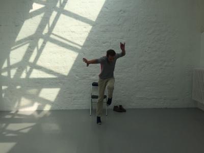 Rémy Yadan dans L'Atrabile, une performance de danse au musée Picasso