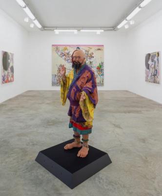 Takashi Murakami, l'exposition à la galerie Perrotin
