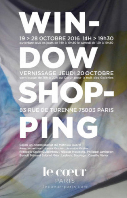 Window Shopping, l'exposition du Coeur