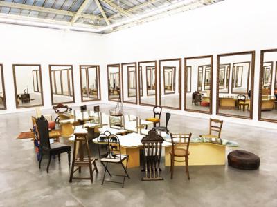 Michelangelo Pistoletto, l'expo à la VNH Gallery