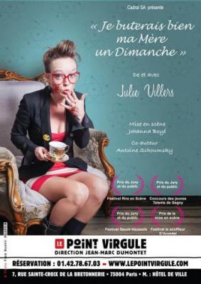 Julie Villers au Point Virgule : gagnez vos places pour cet excellent show