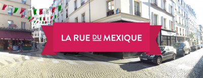 La Rue du Mexique s'installe rue Androuet (Paris 18ème)