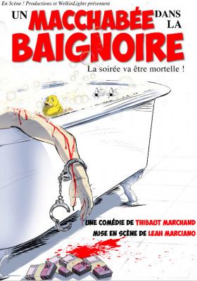 Un macchabée dans la baignoire au théâtre Proscenium : complètement déjanté !