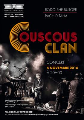 Couscous clan, un concert exceptionnel au Palais de la Porte Dorée