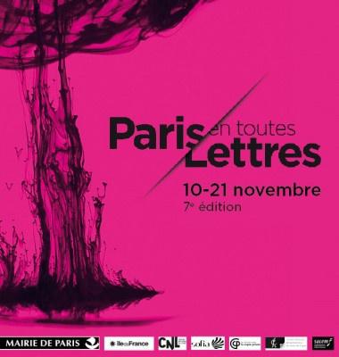 Paris littéraire : les rendez-vous lettrés de novembre 2016
