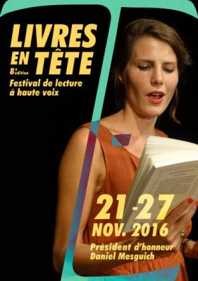Livres en tête, le festival de lecture à voix haute 2016