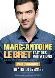 Marc-Antoine Lebret au théâtre du Gymnase : notre critique