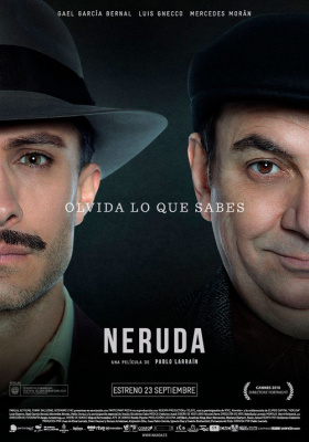Neruda, le biopic très attendu sur Pablo Neruda