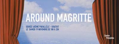 Around Magritte, la soirée gratuite du Centre Pompidou