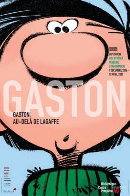 Gaston, au-delà de Lagaffe, l'expo à la BPI du Centre Pompidou