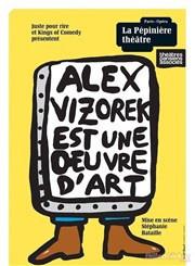 Alex Vizorek est une oeuvre d'art à la Pépinière : notre critique
