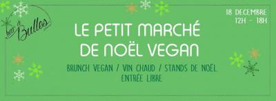 Le Petit marché de Noël vegan au Bar à Bulles