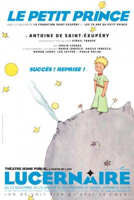 Le Petit Prince, spectacle pour enfants au Lucernaire