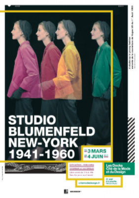Studio Blumenfeld, l'expo photo gratuite de la Cité de la Mode et du Design