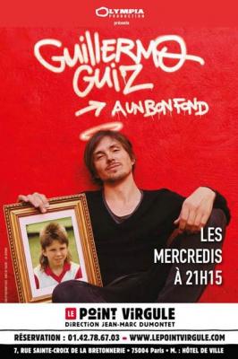 Guillermo Guiz au Point Virgule : notre critique