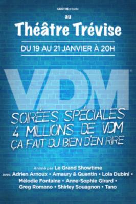 VDM fête ses 4 millions d'anecdotes au théâtre Trévise