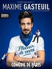 Maxime Gasteuil dans Plaisir de vivre à la Comédie de Paris : critique