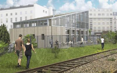 Une ferme urbaine ouvrira en 2018 dans le 19ème arrondissement